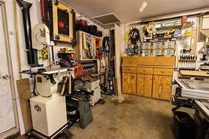 Anthony's Garage Woodshop - The Wood Whisperer
