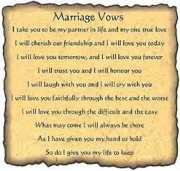 christian wedding vows traditional wedding vows quotes quotesgram