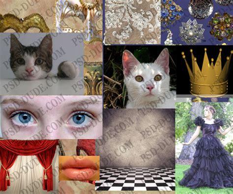 Photoshop Cat Princess Tutorial  Photoshop Tutorial Psddude