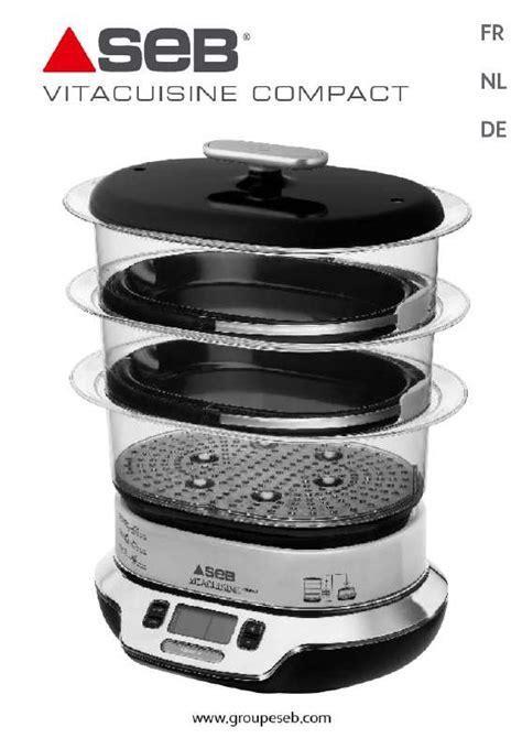 seb vita cuisine gebruiksaanwijzing seb vs4003 vitacuisine compact 384