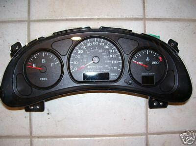 buy car manuals 1996 chevrolet impala instrument cluster 2003 chevy impala gm speedometer instrument gauge cluster repair rebuild ebay