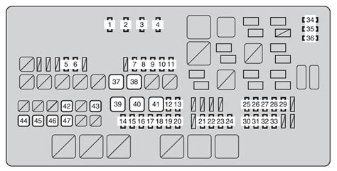 Fuse Box For 2003 Toyotum Tundra by Toyota Tundra From 2013 Fuse Box Diagram Auto Genius