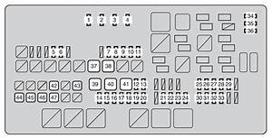 Toyota Tundra  From 2013  - Fuse Box Diagram
