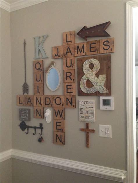 wall decor letters scrabble letters wall decor diy letter