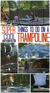 Try, Over, 25, Cool, Things, To, Do, On, A, Trampoline