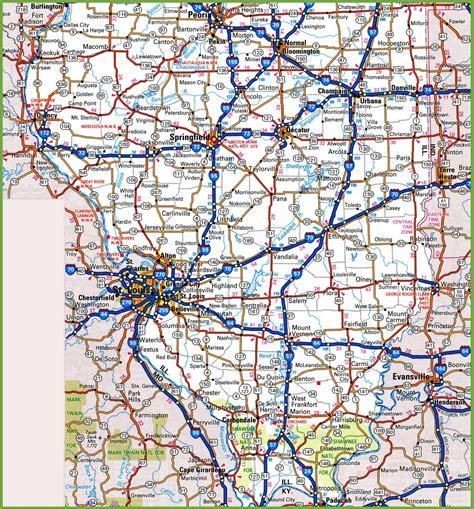map  southern illinois