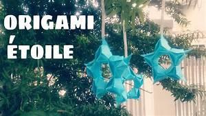 Comment Faire Une étoile En Papier : origami d coration comment faire une toile en papier ~ Nature-et-papiers.com Idées de Décoration