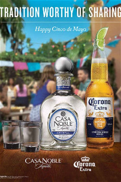branded beverage ads casa noble tequila ad
