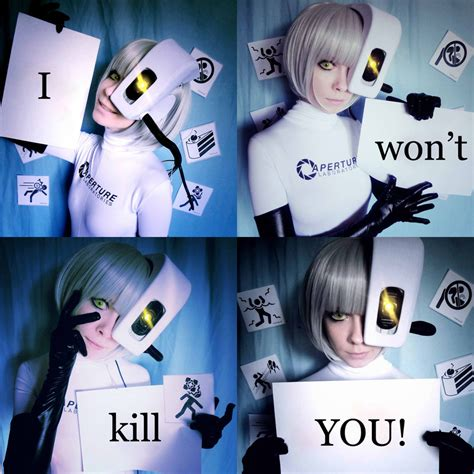 Glados Cosplay By Tenori Tiger On Deviantart