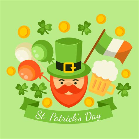 Happy St Patrick's Day Vector  Download Free Vector Art. Potluck Banners. Sage Logo. Fireball Banners. Church Murals