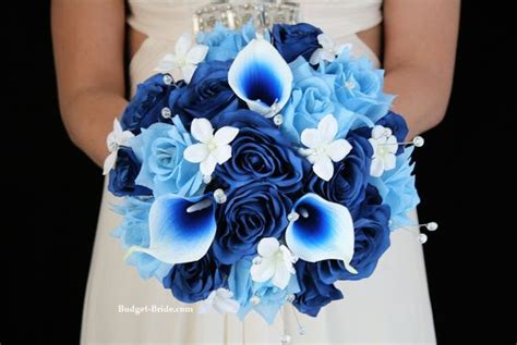 motyw przewodni wesela blue wedding decoflore