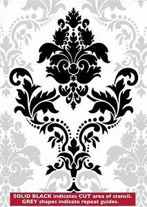 Top 10 Damask Pattern Stencil Free Download