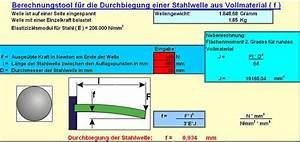 Durchbiegung Rechteckrohr Berechnen : tool zur berechnung der wellendurchbiegung roboternetz forum ~ Themetempest.com Abrechnung