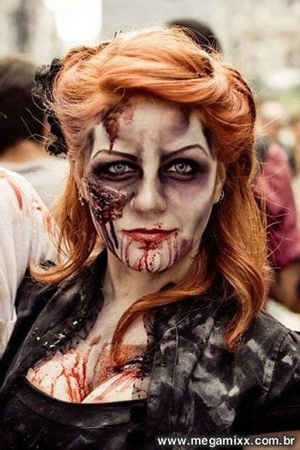 1000 Ideas About Zombie Makeup Easy On Pinterest Zombie