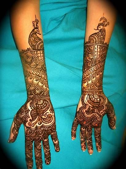 Mehndi Bridal Designs Hands Indian Mehendi Bride