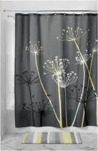 best of grey and yellow shower curtain target sepromo