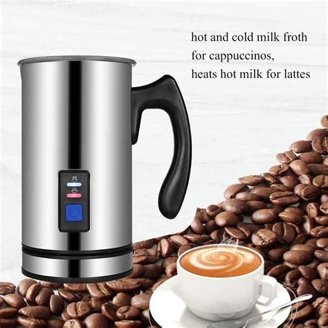 Not only is foaming milk simple, but the nespresso machines make brewing espresso just as easy. Biolomix Electric Milk Frother Soft Foam Warmer for Coffee ...