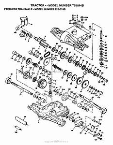 Ayp  Electrolux Ts1844b  1995  Parts Diagram For Peerless Transaxle