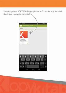 Free Download User Guide  How To Use Kopykitab Android App