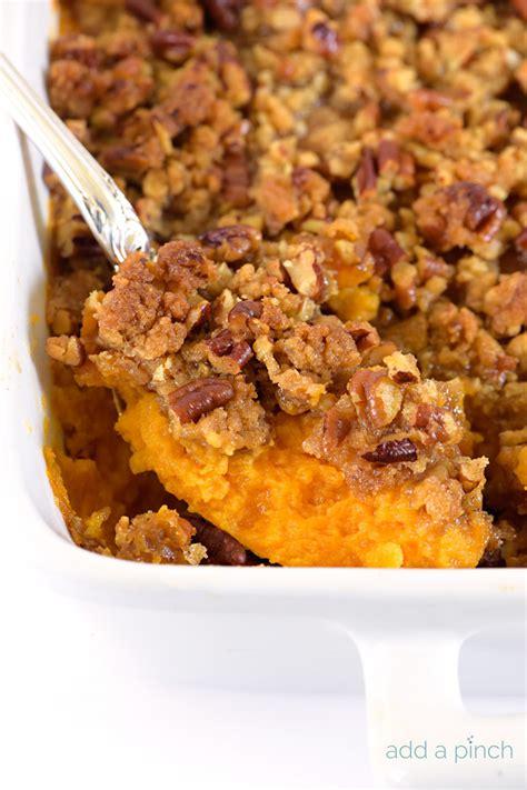 Southern Sweet Potato Casserole  Cooking  Add A Pinch