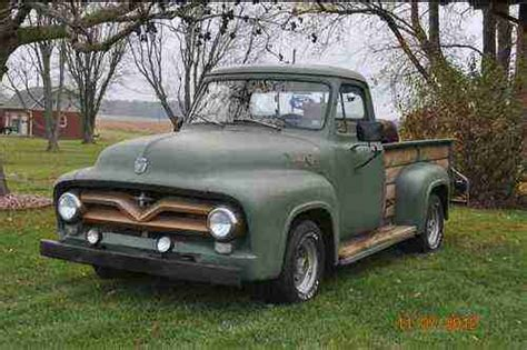 sell used 1955 ford f250 f 100 f100 in chesterton in united states