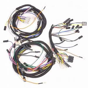 John Deere 4020 Diesel Dash  U0026 Engine Wire Harness  Serial