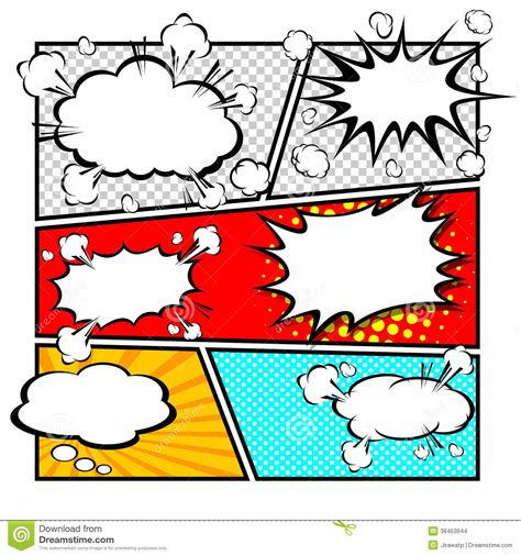 comic template clipart clipground