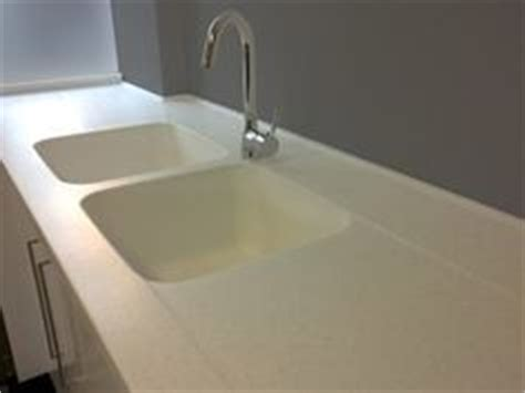 Installing Sink Strainer In Corian by Molded In Sinks On Sinks Custom Countertops