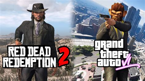 GTA 6 vs. Red Dead Redemption 2 - First One To Be Released ...