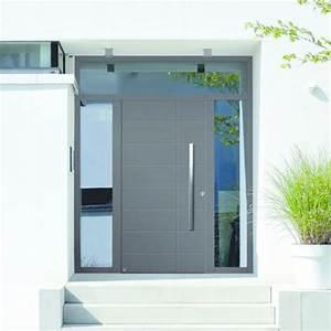 portes d39entree en aluminium a isolation thermique elevee With porte de garage et isolation thermique porte intérieure