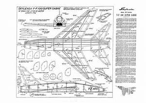 F-100 Super Sabre Plans - Aerofred