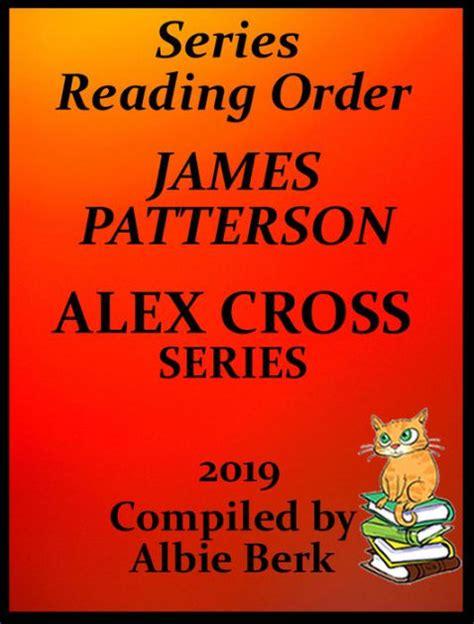 james patterson alex cross series  reading order