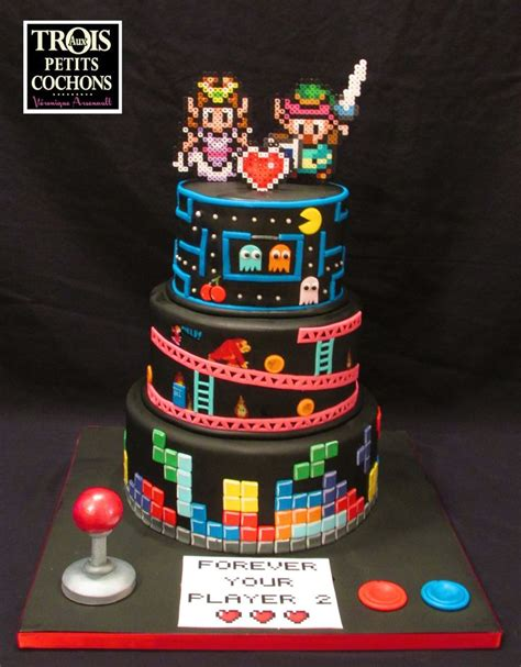 video game cakes images  pinterest birthday
