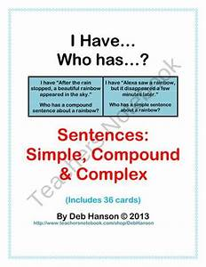 33 Best Images About Types Of Sentences On Pinterest