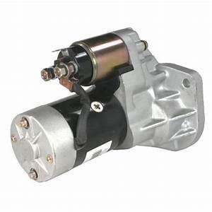 Starter Motor For Nissan Navara D22 Engine Td27 2 7l Diesel 1997-2000 - Qualitycarparts