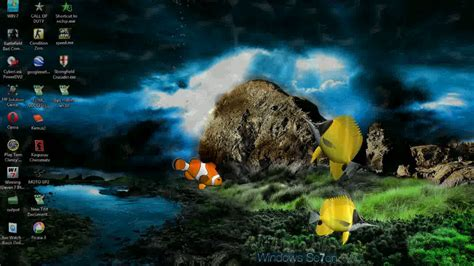 3d Animated Fish Wallpaper - wallpaper 3d animated 3d screensaver animated
