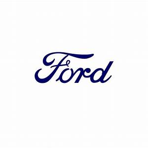Ford Text Vinyl Sticker 199 BluntOne Affordable