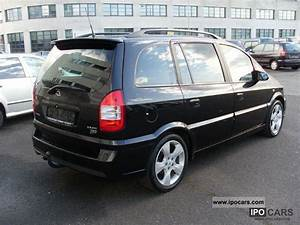 Opel Zafira 2 2 2003 Technical Specifications
