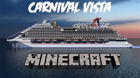 Carnival Vista Boat by Carnival Vista In Minecraft Cinematic 1 1