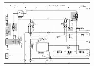 A  C Wiring Diagram 2002 Toyota Camry