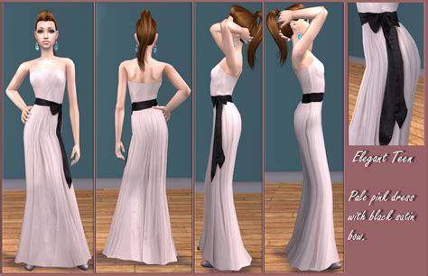 mod  sims elegant teen  formal dresses
