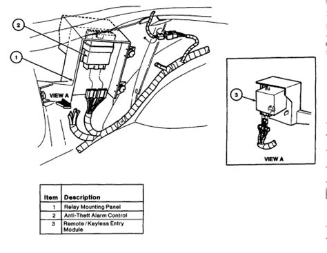 1999 Ford F 150 Anti Theft Wiring Diagram by Where Is The Anti Theft Unit Located On A 1997 Mustang Gt