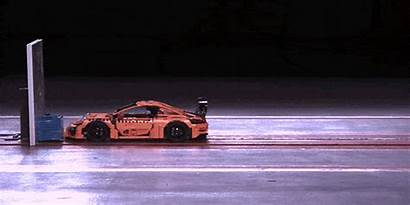 Crash Porsche 911 Test Gt3 Lego Rs