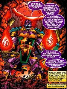 Thanos vs Krona - Battles - Comic Vine