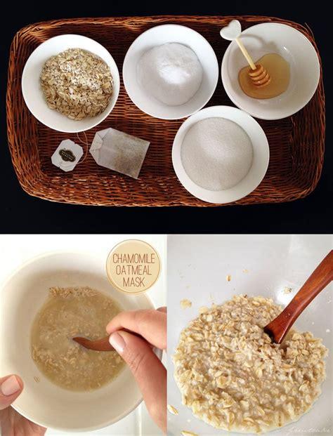 chamomile oatmeal face mask freutcake