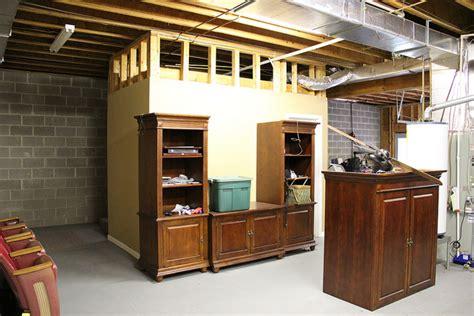 hometalk   unfinished basement   ultimate man