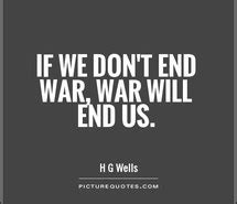No War Only Peace Quotes