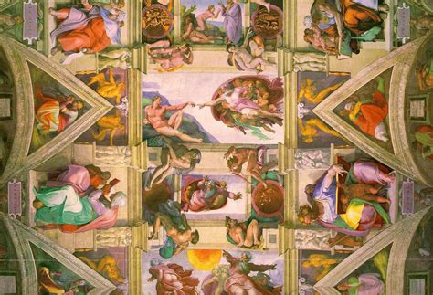 Painted The Ceiling Of The Sistine Chapel In Rome by 9 17 2009 The Arts In New York City