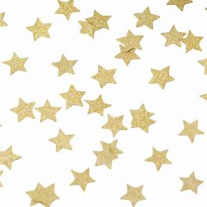 Gold Glitter Star Table Confetti By Ginger Ray