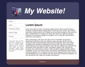 HTML Web Page Design Examples